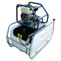 300L Pressure Washer Skid Unit - 10 L/m - 2175Psi Interpump - Petrol & Recoil