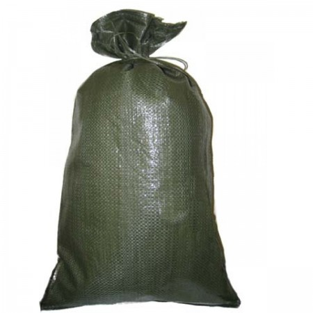 Empty Black Plastic Sandbags - Heavy Duty (Pack of 50)