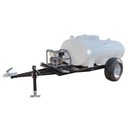 1500L Site Tow Interpump Pressure Washer Bowser - 13LPM - 2900PSI - Petrol - Recoil Start